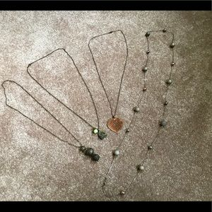 Jewelry - Lot of 4 long Necklaces